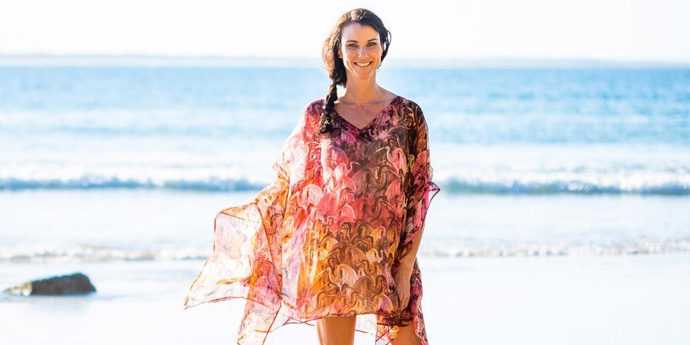 Fashion Style Tips For Summer, Sunset Beach Kaftan Dress, Laloom Kaftans