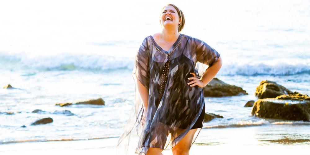 Kaftans For Plus Size Women, Waimoka Mid Length Kaftan Dress, Laloom Kaftans