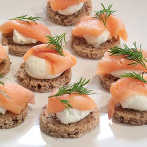 Laloom's Guide To The Party Season Smoked Salmon Bites Recipe, Laloom Kaftans