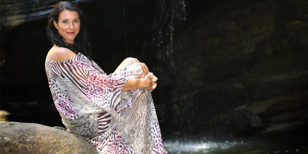 Plus Size Boho Dresses Australia, Cheetahlicious Long Kaftan Dress, Laloom Kaftans