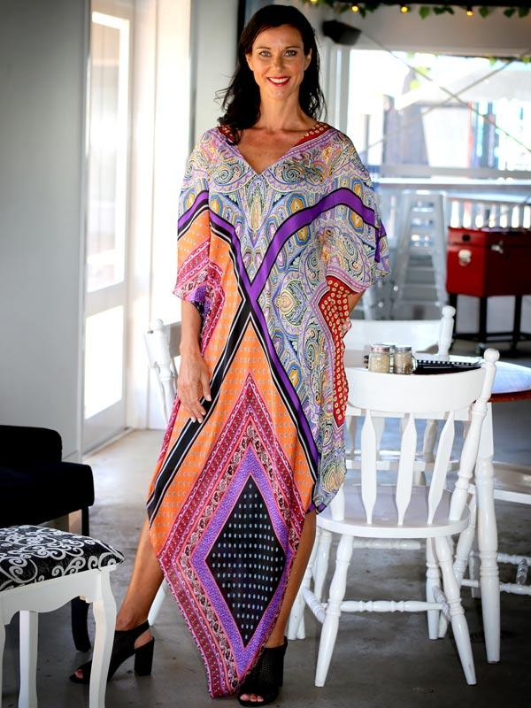 The perfect cruise outfit, Yes To Dancing Long Kaftan, Laloom Kaftans