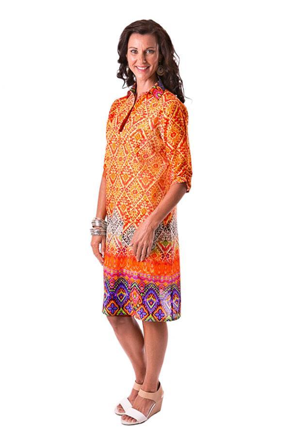 Annie tunic in cotton