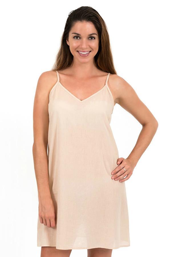 Celine - Slip Dress in Cotton