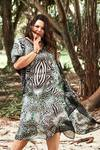 Gaia Silk Kaftan Dress, Laloom Kaftans