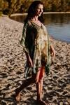 Mirihi Island short kaftan dress