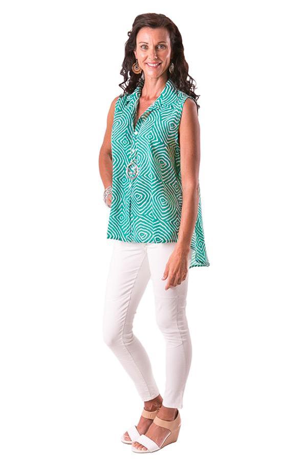 Siam Maze cotton tunic