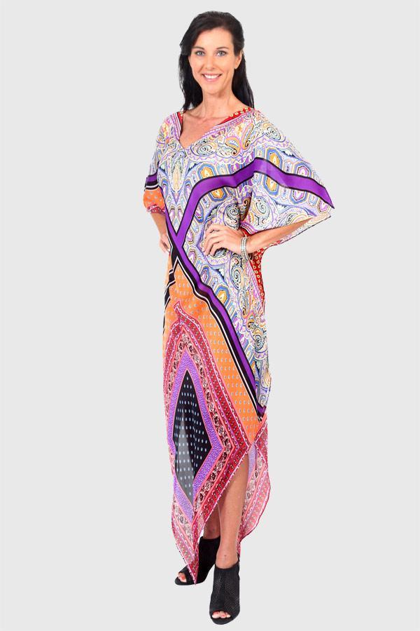 Yes To Dancing long kaftan dress